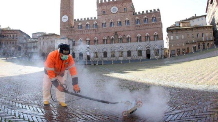 Covid-19: Itália com uma baixa recorde no número diário de mortes