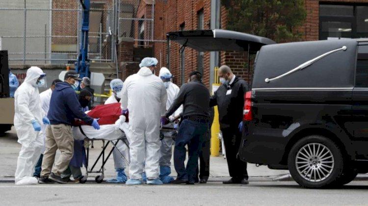EUA registam mais 1.883 mortos nas últimas 24 horas