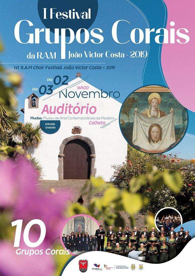 Grupo Coral do Arco da Calheta organiza  I Festival de Grupos Corais da R.A.M. João Victor Costa